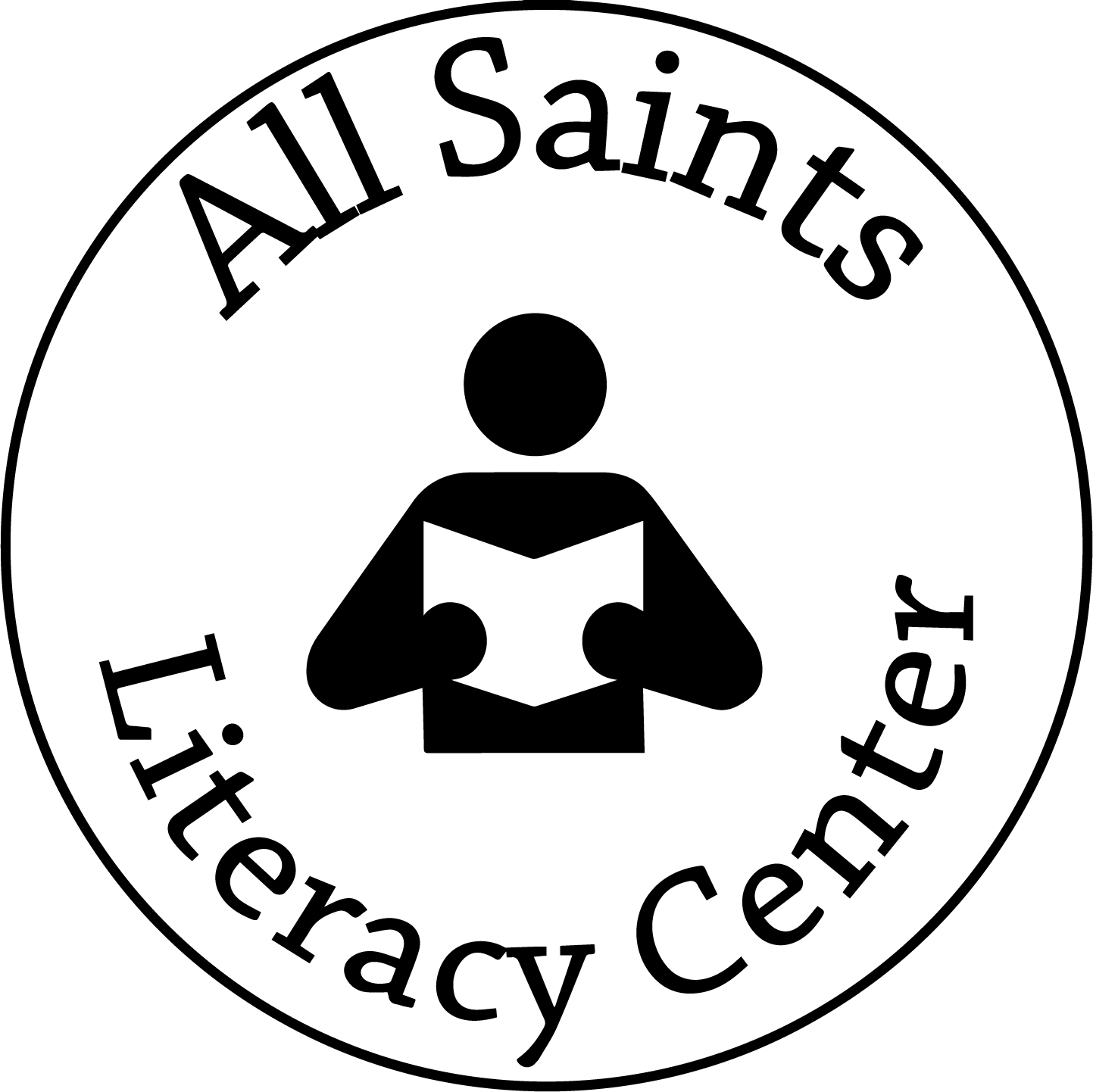 All Saints Literacy Center Logo